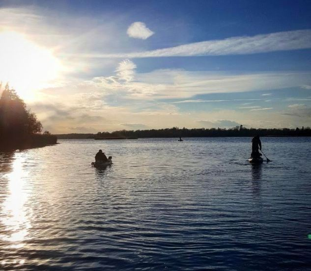 Kajak fishing