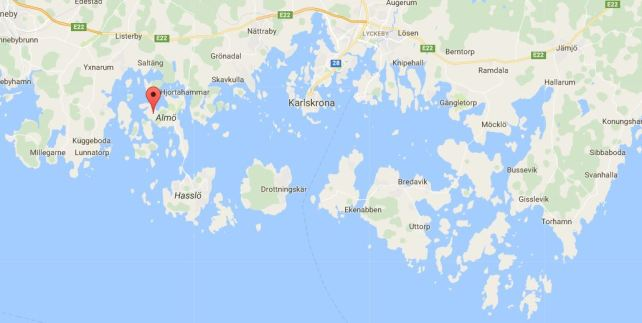 Lokatie in archipel