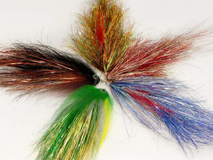 Pike streamers Sameo