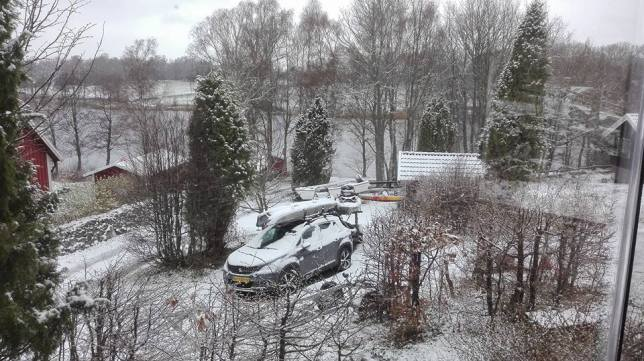 Sneeuw in april